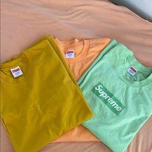 Supreme shirt Bundle